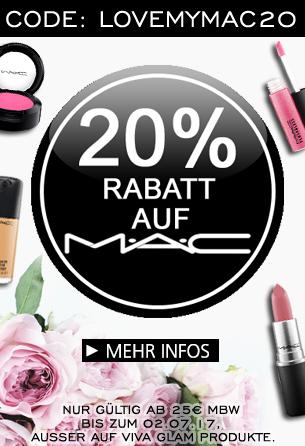 Parfümerie Pieper online - Jetzt 20% Rabatt auf MAC!