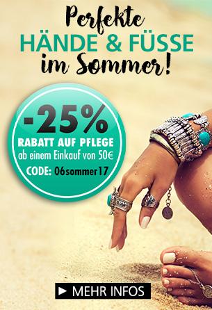 Parfümerie Pieper online - Perfekte Hände und Füße – 25% Rabatt!