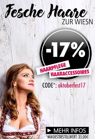 Parfümerie Pieper online - 17% auf Haarpflege und -accessoires