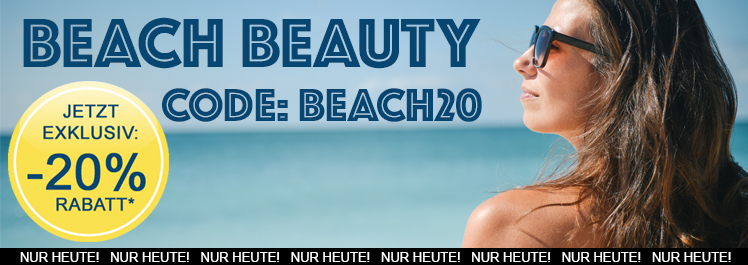 Beach Beauty – 20% Rabatt auf Alles - Parfümerie Pieper online