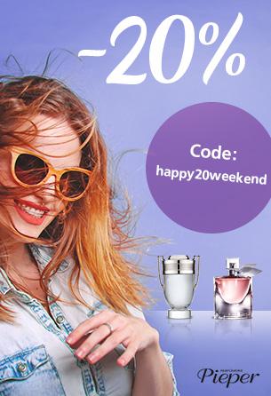 Parfümerie Pieper Online - 20% Rabatt vom 25.02. - 26.02