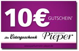 Parfümerie Pieper online - Gratis 10€ Oster-Gutschein