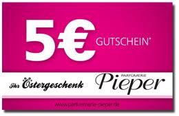 Parfümerie Pieper online - Gratis 5€ Oster-Gutschein