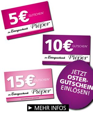 Parfümerie Pieper online - Jetzt Oster-Gutschein einlösen!