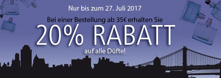 Summer in the City – 20% Rabatt auf Düfte- Parfümerie Pieper online