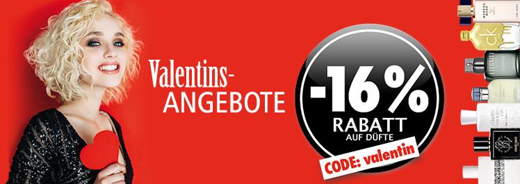 Parfümerie Pieper Online - 16% Rabatt auf Düfte zum Valentinstag