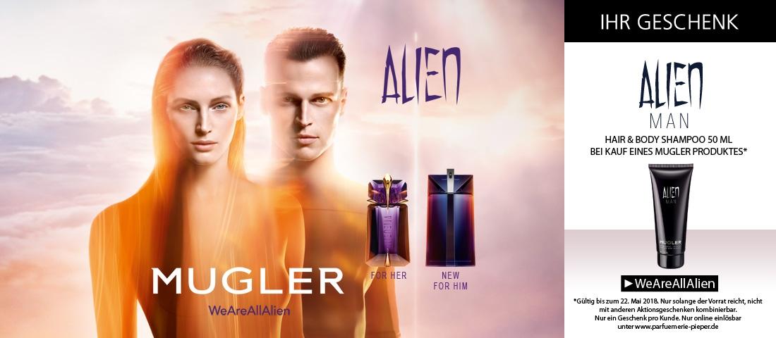 Alien Man bei Pieper