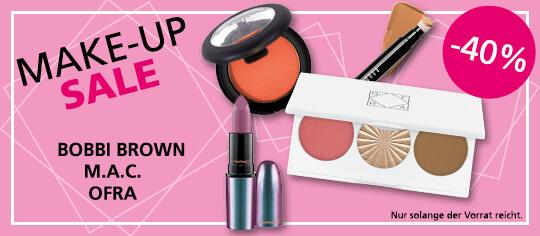 Makeup Sale auf ausgewählte Artikel - bis zu -40% Rabatt - Parfümerie Pieper Online