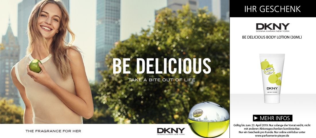 DKNY Be Delicious entdecken