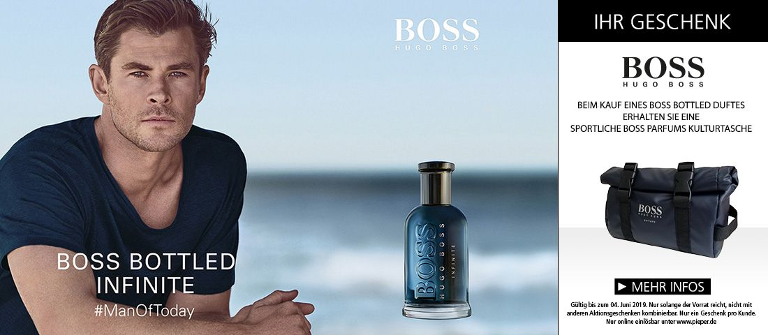 BOSS BOTTLED Infinite entdecken