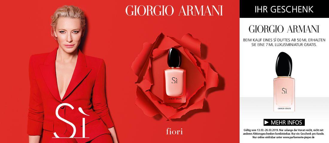 Jetzt Giorgio Armani SI Fiori entdecken