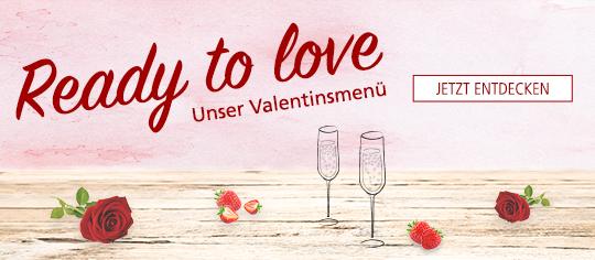 Entdecken Sie unser Valentinsmenü bei Parfümerie Pieper Online