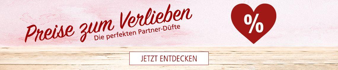 Preise zum Verlieben - die perfekten Partner-Düfte bei der Parfümerie Pieper
