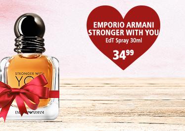 Parfümerie Pieper - Preise zum Verlieben - die perfekten Partner-Düfte - Emporio Armani Stronger With YOU