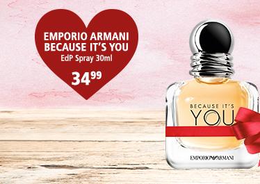Parfümerie Pieper - Preise zum Verlieben - die perfekten Partner-Düfte - Emporio Armani Because It's YOU