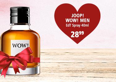 Parfümerie Pieper - Preise zum Verlieben - die perfekten Partner-Düfte - JOOP! WOW! Men