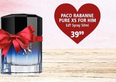 Parfümerie Pieper - Preise zum Verlieben - die perfekten Partner-Düfte - Paco Rabanne Pure XS for him