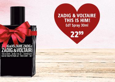 Parfümerie Pieper - Preise zum Verlieben - die perfekten Partner-Düfte - ZADIG & VOLTAIRE This is Him!