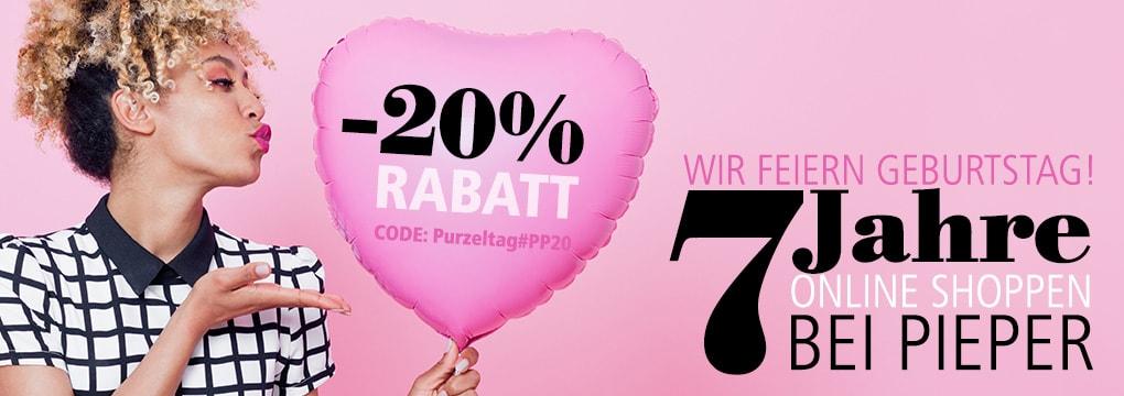 7 Jahre Parfümerie Pieper Online Shop | Feiern Sie mit uns!