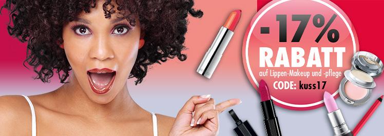 Tag des Kusses – 17% Rabatt auf Lippenprodukte - Parfümerie Pieper online