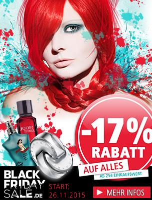 Parfümerie Pieper online nimmt am Ausverkauf des Jahres teil! Black Friday Sale!