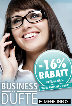 -16% Rabatt auf Damendüfte bei Parfümerie Pieper online