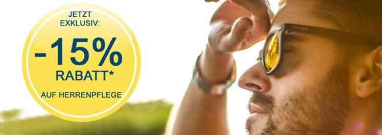 MannOMann – 15% Rabatt auf Herrenpflege - Parfümerie Pieper online