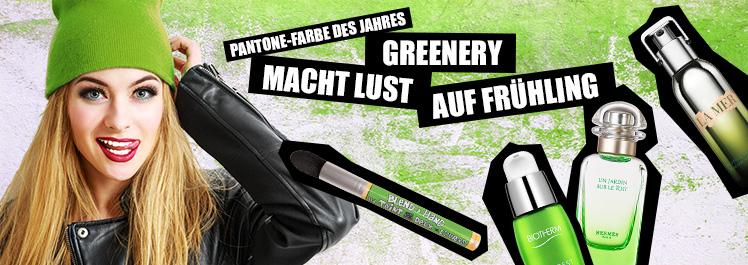 Parfümerie Pieper Online - Greenery - die Pantonefarbe 2017