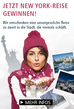 Parfümerie Pieper online: Wir verlosen eine Städtereise für zwei Personen nach New York