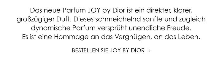 Parfümerie Pieper online - Bestellen Sie JOY by Dior