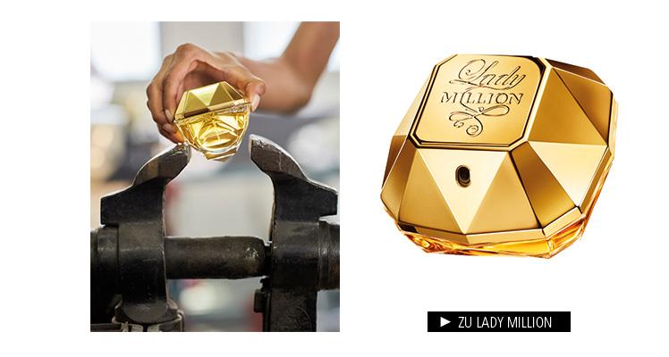 Parfümerie Pieper online - Paco Rabanne - Lady Million im Markenshop entdecken
