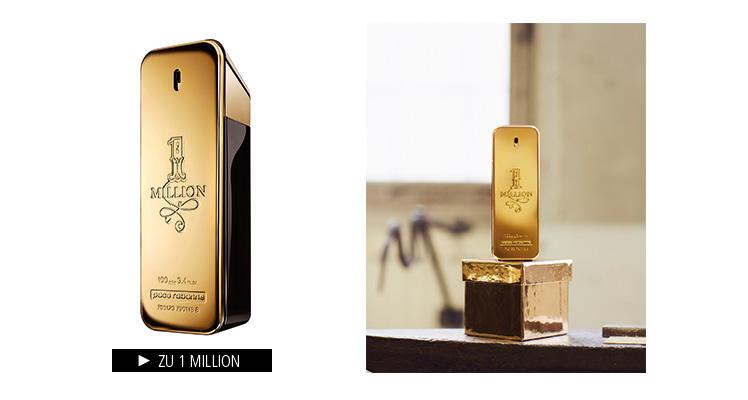Parfümerie Pieper online - Paco Rabanne - 1 Million im Markenshop entdecken