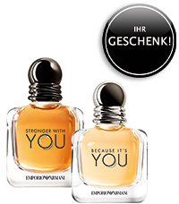 Parfümerie Pieper online - Sichern Sie sich Ihr Geschenk von Armani