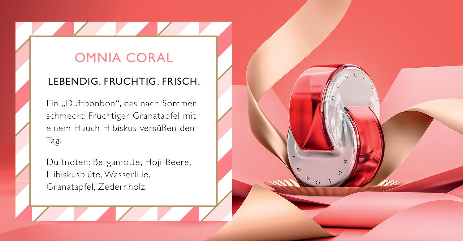 Parfümerie Pieper online - Bvlgari - Omnia Coral EdT