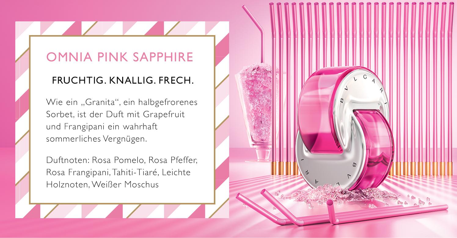 Parfümerie Pieper online - Bvlgari - Omnia Pink Sapphire EdT