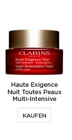 Parfümerie Pieper online - Clarins - Haute Exigence Nuit Toutes Peaux