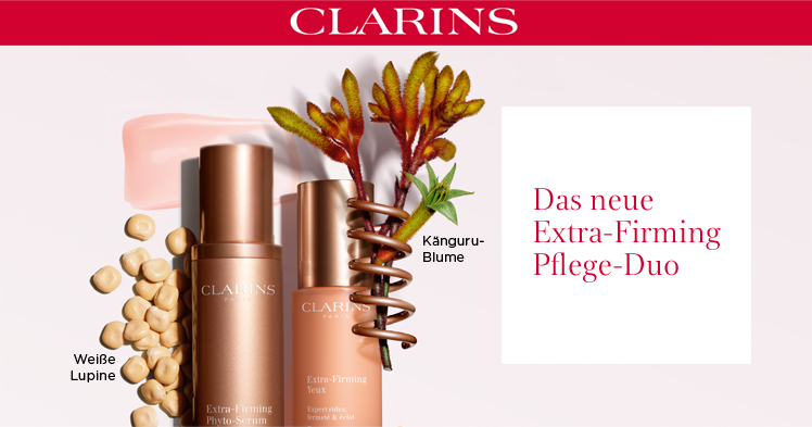 Parfümerie Pieper online - Clarins - Extra-Firming Pflege Duo + Kundengeschenk
