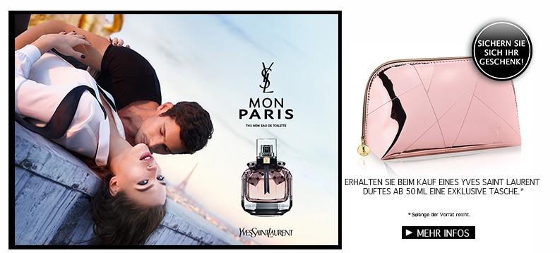 Yves Saint Laurent Mon Paris - Sichern Sie sich Ihr Geschenk