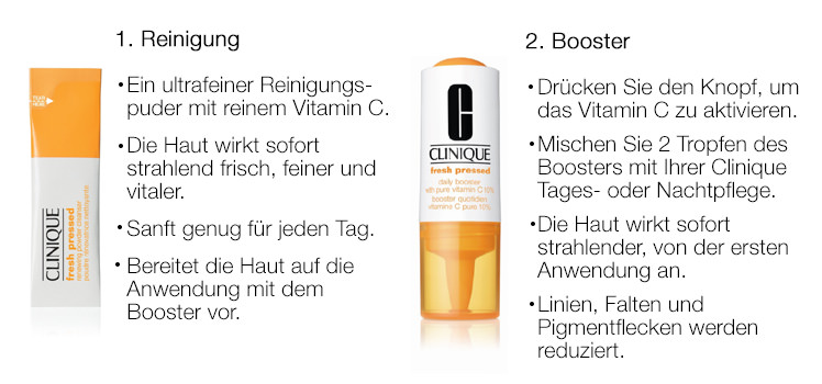 Parfümerie Pieper online - Clinique Fresh Pressed. Nehmen Sie am Gewinnspiel teil und sichern Sie sich Ihr Geschenk.