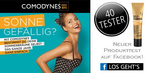 Parfümerie Pieper online - Nehmen Sie an unserem Produkttest von COMODYNES auf Facebook teil