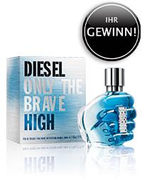 Parfümerie Pieper online - DIESEL ONLY THE BRAVE HIGH - LEBE MUTIG! + Gewinnspiel und Kundengeschenk