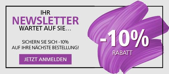 Melden Sie sich zum Newsletter der Parfümerie Pieper an