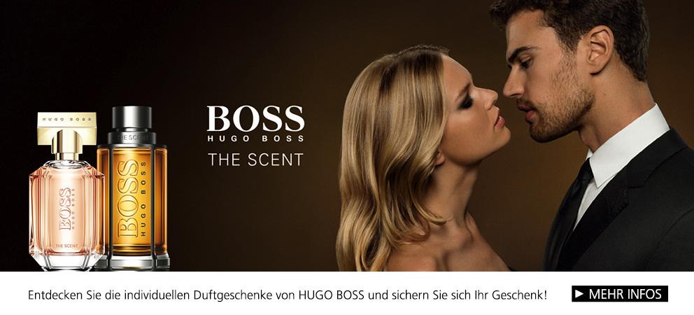Parfümerie Pieper online - Entdecken Sie die individuellen Duftgeschenke von HUGO BOSS. Mit Kundengeschenk!