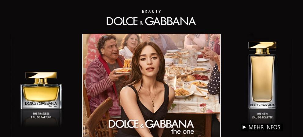 Dolce und Gabbana - Entdecken Sie das neue The One Eau de Toilette