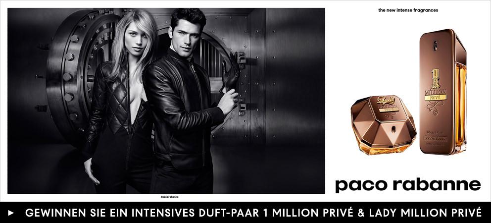 Parfümerie Pieper online - 1 MILLION PRIVÉ & LADY MILLION PRIVÉ - DAS NEUE INTENSIVE ABENTEUER VON PACO RABANNE. Mit Gewinnspiel!