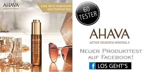 Parfümerie Pieper online - Nehmen Sie an unserem Produkttest von AHAVA auf Facebook teil
