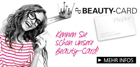 Parfümerie Pieper online - Entdecken Sie die Beauty-Card!