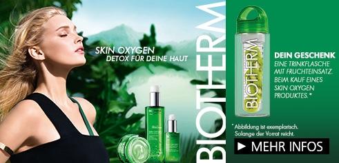 Parfümerie Pieper online - Biotherm Skin Oxygen Feuchtigkeitsgel + Geschenk