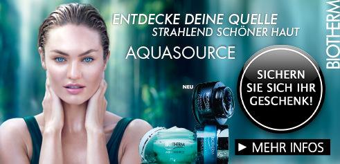Parfümerie Pieper online - BIOTHERM AQUASOURCE - FÜR EINE HAUT VOLLER LEBEN  + Kundengeschenk