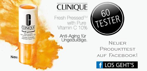 Parfümerie Pieper online - Nehmen Sie an unserem Produkttest von Clinique auf Facebook teil